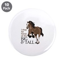 """I SHOP AT BIG AND TALL 3.5"""" Button (10 pack)"""
