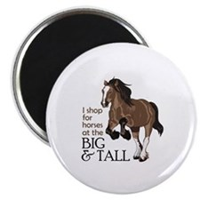 I SHOP AT BIG AND TALL Magnets