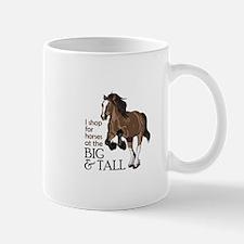I SHOP AT BIG AND TALL Mugs