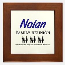 Nolan Family Reunion Framed Tile