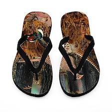 Unique Hunting Flip Flops