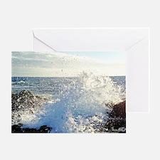 Hawaii Splash Greeting Card