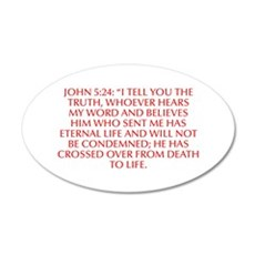 John 5 24 I tell you the truth whoever hears my wo