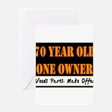 Cute Sale 66 year old Greeting Card