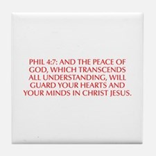 Phil 4 7 And the peace of God which transcends all