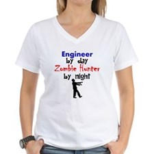 Engineer By Day Zombie Hunter By Night T-Shirt