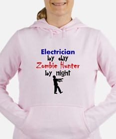 Electrician By Day Zombie Hunter By Night Women's