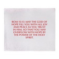 Rom 15 13 May the God of hope fill you with all jo