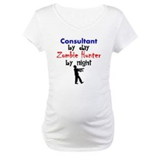 Consultant By Day Zombie Hunter By Night Shirt