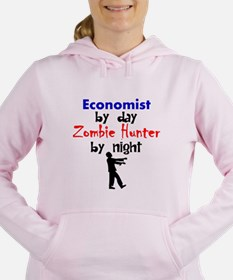Economist By Day Zombie Hunter By Night Women's Ho
