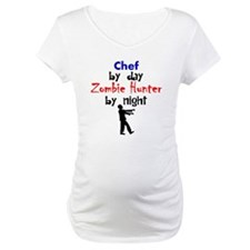 Chef By Day Zombie Hunter By Night Shirt