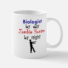 Biologist By Day Zombie Hunter By Night Mugs