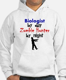Biologist By Day Zombie Hunter By Night Hoodie