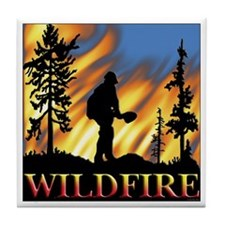 wildfire (B).png Tile Coaster