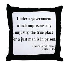 Henry David Thoreau 18 Throw Pillow