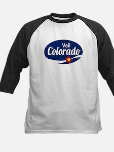 Epic Vail Ski Resort Colorado Baseball Jersey