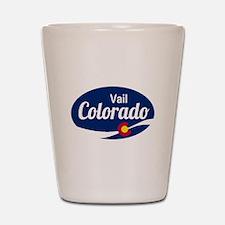 Epic Vail Ski Resort Colorado Shot Glass