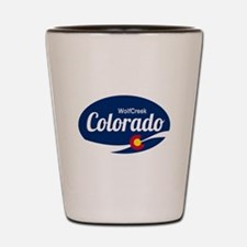 Epic Wolf Creek Ski Resort Colorado Shot Glass