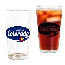 Epic Wolf Creek Ski Resort Colorado Drinking Glass