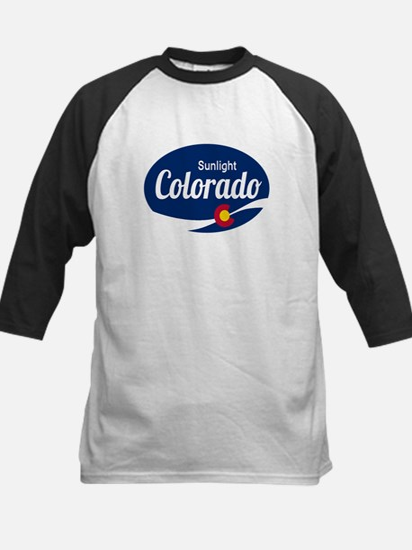 Epic Sunlight Ski Resort Colorado Baseball Jersey