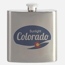 Epic Sunlight Ski Resort Colorado Flask
