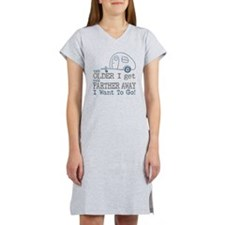 The Older I Get Women's Nightshirt