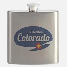 Epic Silverton Ski Resort Colorado Flask