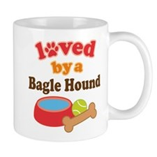 Bagle Hound dog Mug