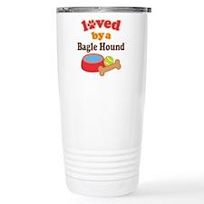 Bagle Hound dog Travel Mug