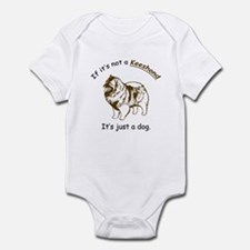 Keeshond Infant Bodysuit