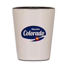Epic Mary Jane Ski Resort Colorado Shot Glass