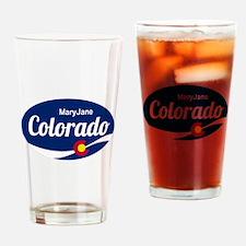 Epic Mary Jane Ski Resort Colorado Drinking Glass