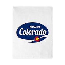 Epic Mary Jane Ski Resort Colorado Twin Duvet