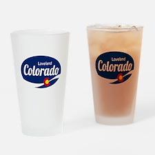 Epic Loveland Ski Resort Colorado Drinking Glass