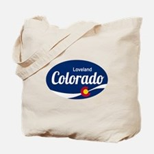 Epic Loveland Ski Resort Colorado Tote Bag