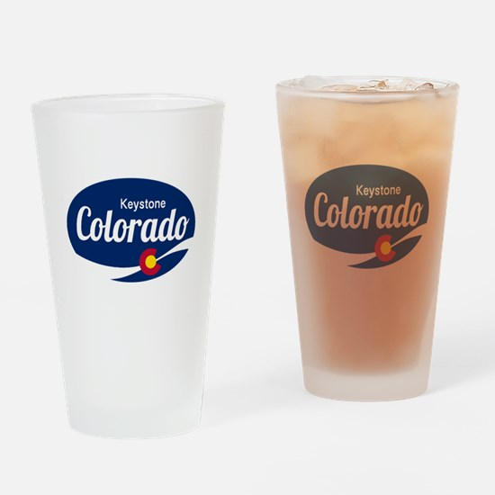 Epic Keystone Ski Resort Colorado Drinking Glass