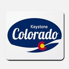 Epic Keystone Ski Resort Colorado Mousepad