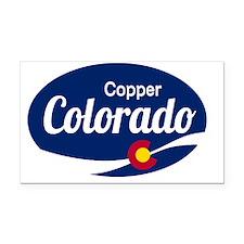 Epic Copper Mountain Ski Reso Rectangle Car Magnet