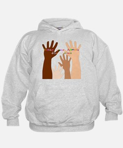 raise your hands for Jesus Hoodie