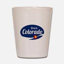 Epic Breckenridge Ski Resort Colorado Shot Glass