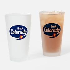 Epic Breckenridge Ski Resort Colora Drinking Glass