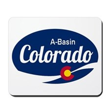 Epic Arapahoe Basin Ski Resort Colorado Mousepad