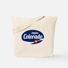 Epic Aspen Ski Resort Colorado Tote Bag