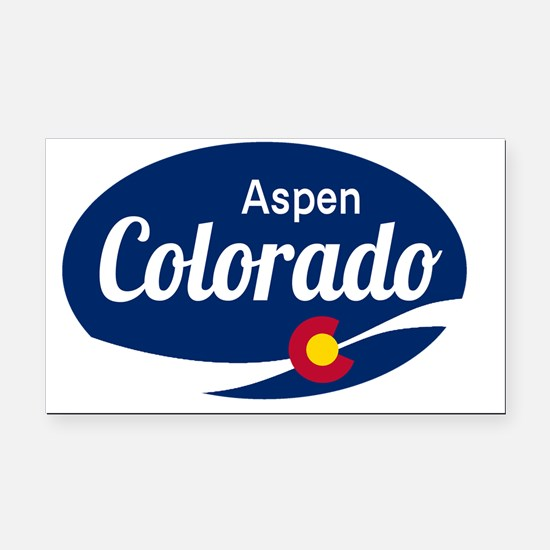 Epic Aspen Ski Resort Colorad Rectangle Car Magnet