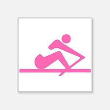 Pink Crew Sticker