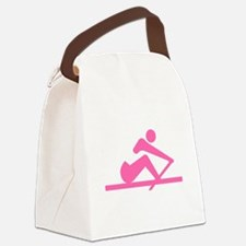 Pink Crew Canvas Lunch Bag