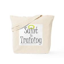 Saint in Training Tote Bag