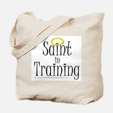 Saint in Training Tote Bag