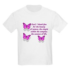 Lord I thank You for the beauty of nature T-Shirt