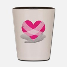 Anti-Valentine - Broken Heart Shot Glass